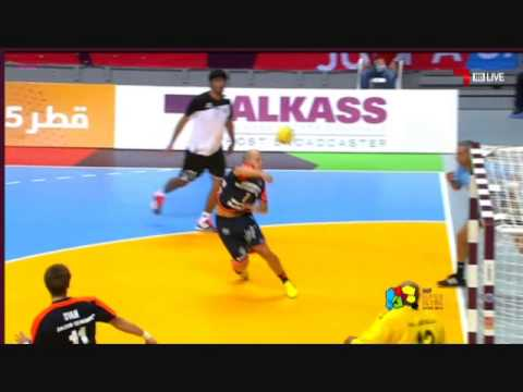 Gol anulado a Eggert en Super Globe Handball