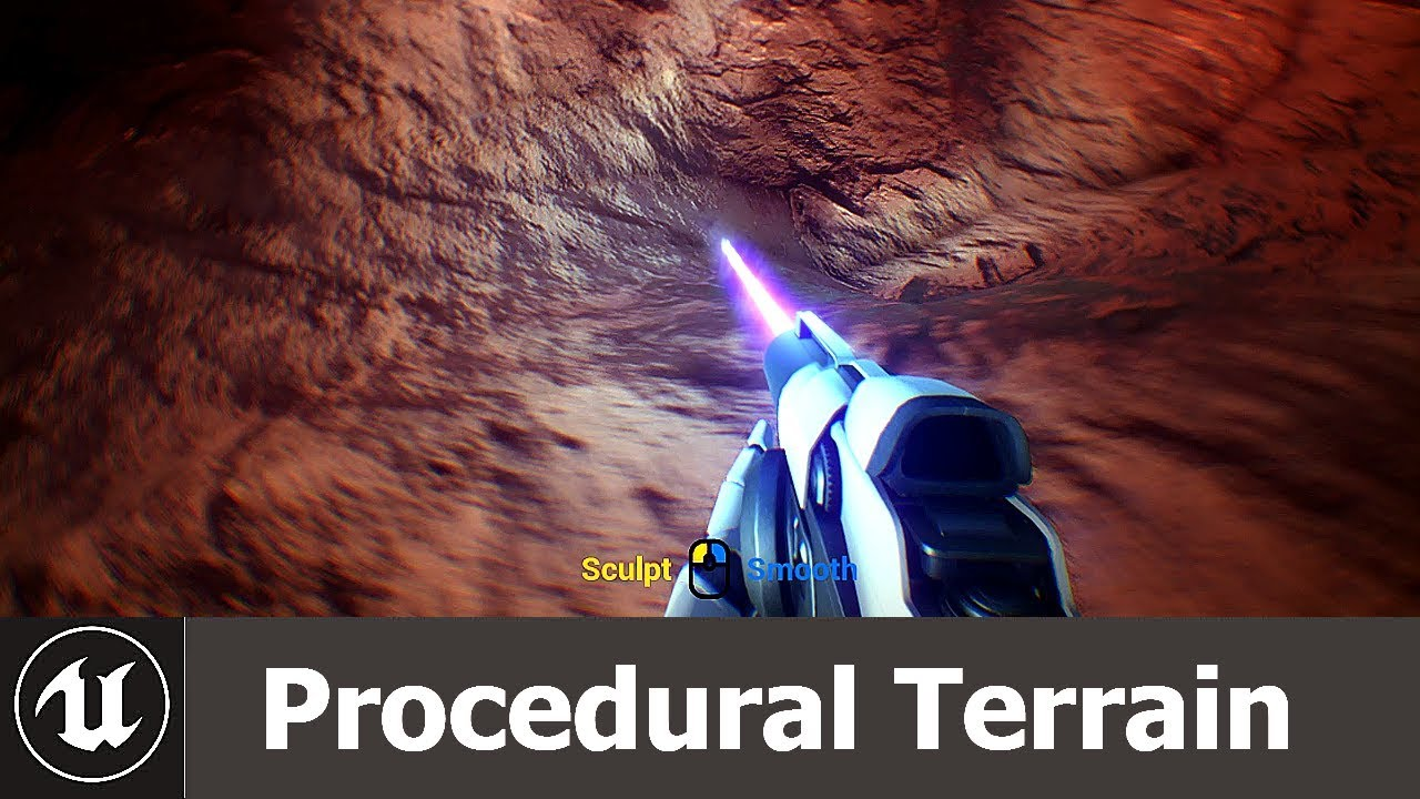 UE4 - Procedural Terrain Deformation
