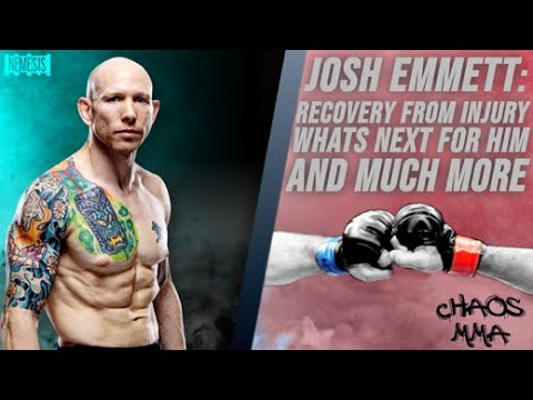 Josh Emmett talks recovery from injury, what's next for him, and much more!