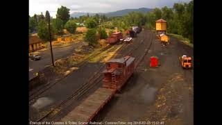 7/5/2018 484 returns to Chama after helping train 216 to Cumbres with the cars for the student tra