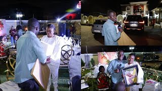 Zionfelix Surprises Ohemaa Mercy With Bday Gifts On Her 42nd Birthday In Her Mansion