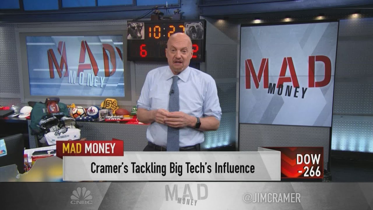 Download Jim Cramer on why he's opposed to breaking up tech giants like Amazon and Apple