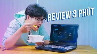 Review Laptop Bằng MỲ TÔM - Acer Helios 300 2019