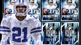PRIMETIME BUNDLE PACK OPENING! Madden NFL 16 Mobile Gameplay