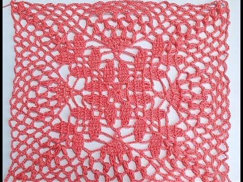 Cuadro a crochet para colchas mantel cojines y blusas - Cojines para bebes ...