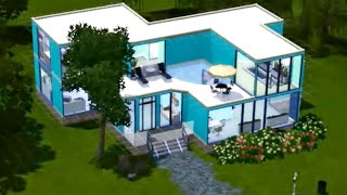 Строим вместе с Симс 3 Дом с бассейном на втором этаже.(, 2014-04-21T13:57:59.000Z)