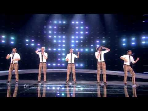 Eurovision 2010 2nd Semi - Lithuania - InCulto - Eastern European Funk
