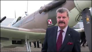 Spitfire BM597 -Franciszek Kornicki RAF Northolt