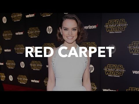 Fierce Fashion From Star Wars: The Force Awakens Red Carpet
