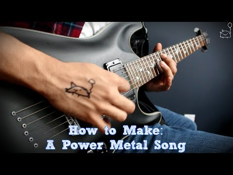 How To: Make a Power Metal Song in 6 Min or Less (+ Full Song at the End) || Shady Cicada