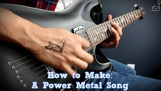 Power Metal Guitar Lessons