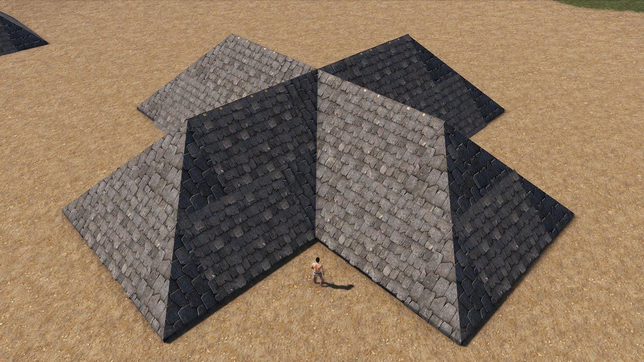 Rust - Новые треугольные крыши!