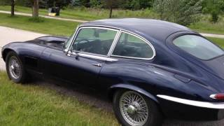 1971 Jaguar V12 XKE E-Type Walkaround and Drive