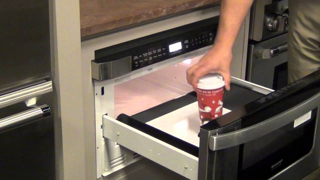 Superieur Sharp Microwave Drawer