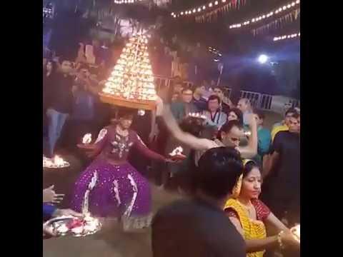 Live Aarti with bharat  bariya and akshay  patel ..