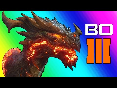 Black Ops 3 Zombies: Der Eisendrache Easter Egg - Fighting the Boss! (Funny Moments & Fails)