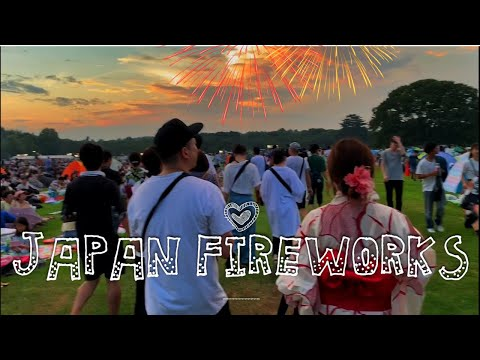 What A Japanese Summer Fireworks Festival Is Really Like
