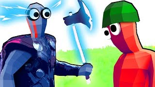 TABS - Super Avengers Thor vs Army Men Faction in Totally Accurate Battle Simulator!