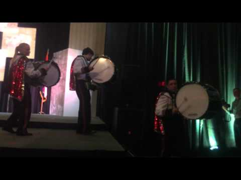 Southern Boone High School Drum Line at Missouri Farm Bureau Annual Meeting