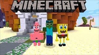 Minecraft SPONGEBOB MYSTERY KIDNAPPING / HELP BIKINI BOTTOM FIND SPONGEBOB !! Minecraft