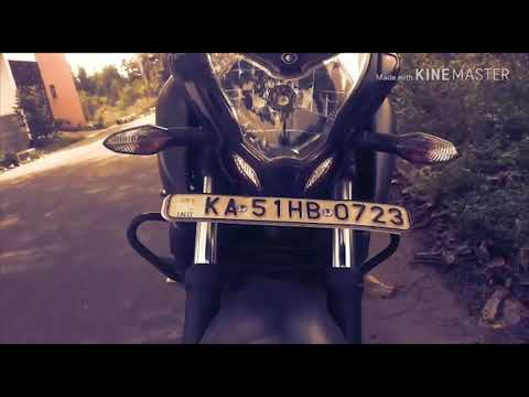 Pulsar NS 200 2018 Single Channel Abs    Intro Theme #savara