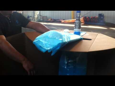 Fast Fill IBC Tote- One Way Tote System