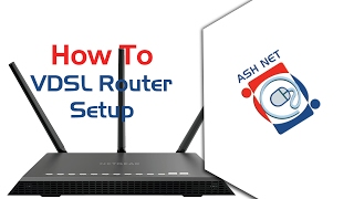 How to Set Up a Smart RG Modem (VDSL) Routed Mode / Modem