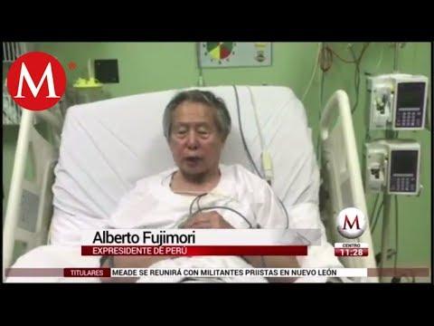 Alberto Fujimori, expresidente de Perú se disculpa