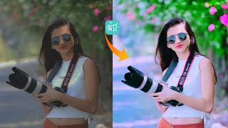 B612 Professional Photo Editing Using Pinky Filter | B612 Best Camera Filter screenshot 2