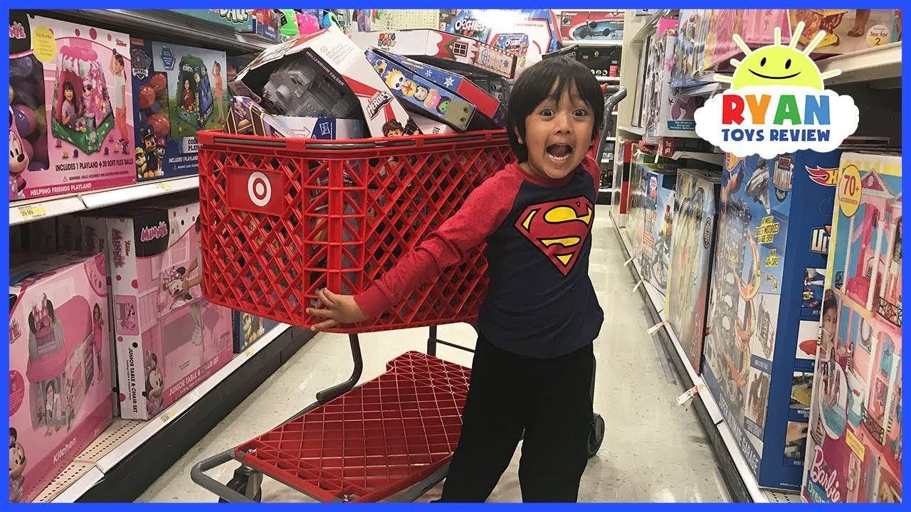 18bcbc6924c KIDS TOY SHOPPING SPREE WITH RYAN!!!! - YouTube