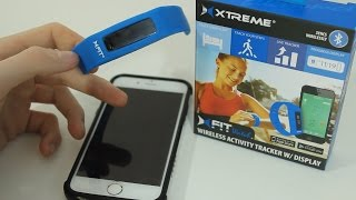 xfit bluetooth activity fitness tracker watch review