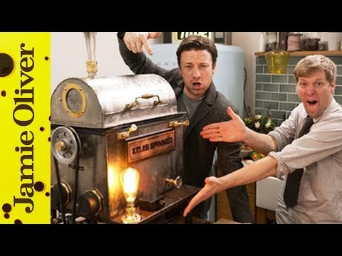 The Christmas Dinner Spinner | Jamie Oliver & Colin Furze