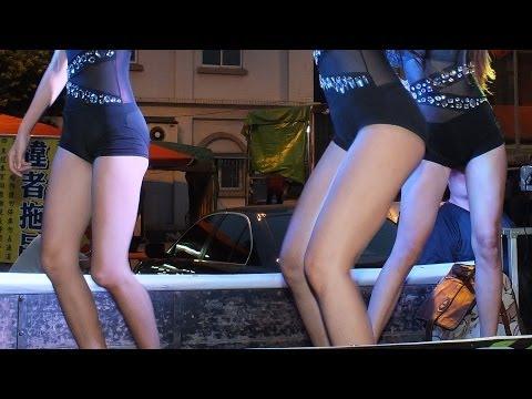 Hot Q Girls 排舞(1080p)@三鳳宮廟會[無限HD] 🏆