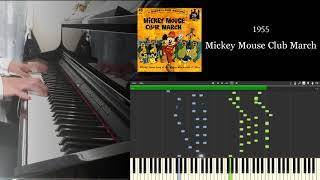 Mickey & Minnie Mouse Medley Piano Covered by kno