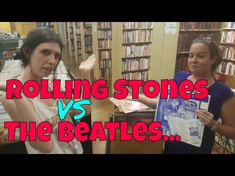 The Beatles Vs Rolling Stones [Vinyl Record Battle]