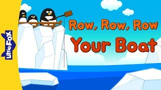 Row, Row, Row Your Boat 2 | Nursery Rhymes | Classic | Little Fox | Animated Songs for Kids