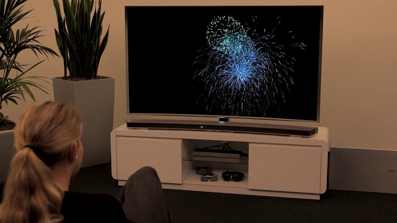 Grundig Fernseher Mit Laptop Verbinden : Samsung smart tv: eine soundbar mit einem smart tv verbinden youtube