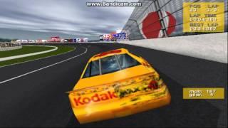 NASCAR Revolution (PC) Race #11 Gameplay (Bobby Hamilton) (Atlanta) (9 Laps)