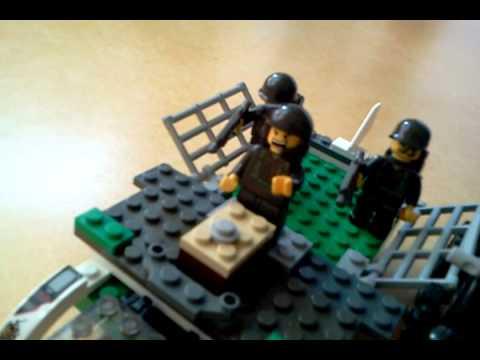 Lego Flugzeug Stop Motion Build