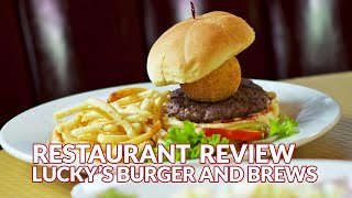 Restaurant Review - Lucky's Burgers & Brew, American (traditional) | Atlanta Eats