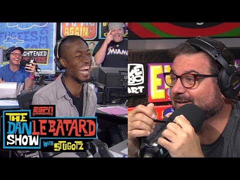 Dan Le Batard shocked as his engagement news is broken | Dan Le Batard Show | ESPN