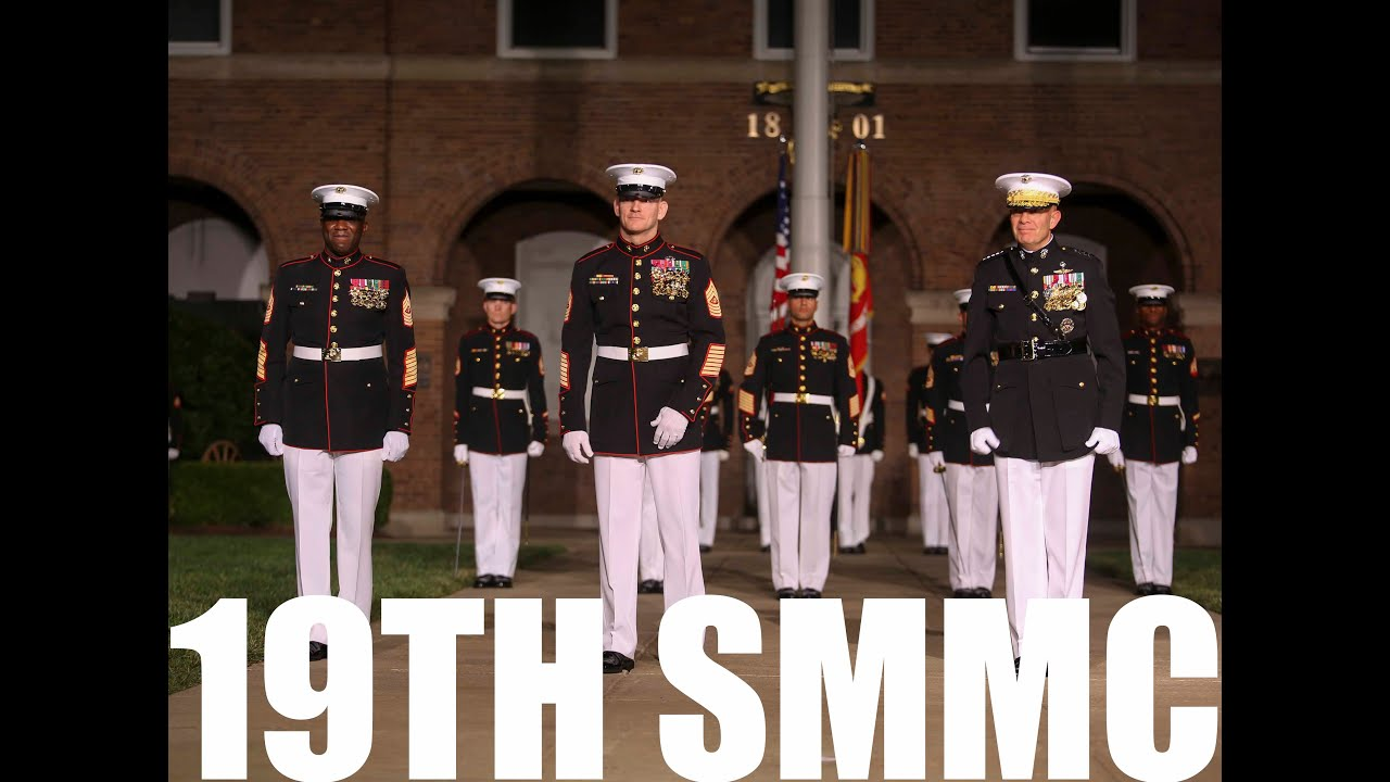 19th Sergeant Major of the Marine Corps Relief and Appointment