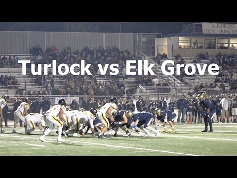Turlock vs Elk Grove V FB 2016