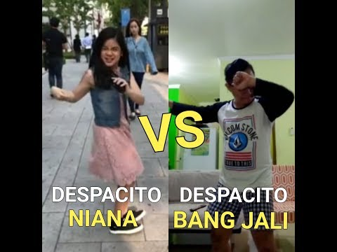 DESPACITO DANCE || despacito NIANA vs despacito BANG JALI