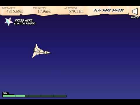 Armor Games - Flight  11864m simple skill