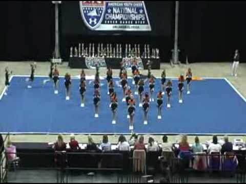 Raiders 11 and under Cheerleaders - Nationals