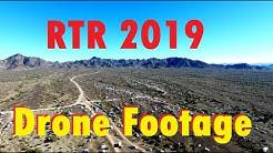 "RTR 2019 DRONE FOOTAGE & ParTR Gets ""Buzzed"" at Scadden Wash, Quartzsite Arizona"