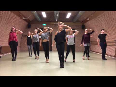 PUUR by Dinne Groothuis: Little Mix -Salute | Street Jazz Heels Choreography