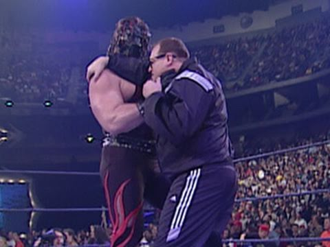 Hall of Fame: Drew Carey competes in the 2001 Royal Rumble