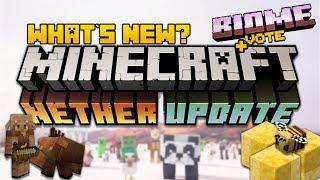 Minecraft NETHER UPDATE | Minecraft PE 1.13 | Minecraft JAVA 1.15 (MCPE|MCJE)